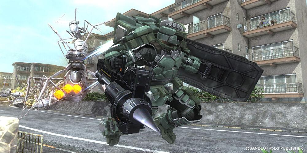 フェンサー 地球防衛軍5